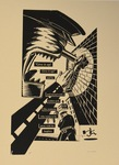 Franz Kafka, Give it Up—a suite of five prints: Image 5 by Peter Kuper