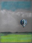 Untitled (Balloon with Field) by Jackie McElroy