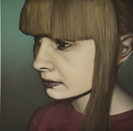 Portrait of Alyssa by David ThunderHawk