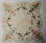 Embroidered Hankerchief by Maker Unknown