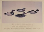 """Fish & Fowl: Decoys from the Collections of Charles """"Bud"""" Jacobi & Mary & Jim Richards Exhibition Poster by Maker Unknown"""