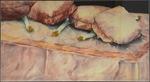 Bedgetables (leeks) by Joy Flynn Knutson