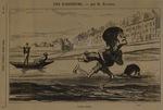 Un bain contrarié by Honoré Daumier