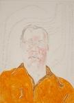 Portrait of David by Daniel Heyman