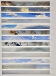 Shared Skies (13 Global Skies) by Kim Abeles