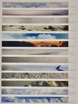 Shared Skies (13 Global Skies) by Kim Abeles