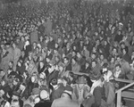 Photograph of 1950s UND Hockey fans