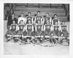 Group Photograph of an UND Hockey Team