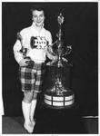 UND Hockey Cheerleader Bernice Heintz