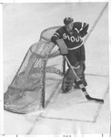Dudley Gene Otto Relaxes in Goal
