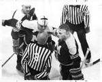 Winnipeg Maroons Argue with the Ref