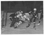 UND Player in Opposing Defensive Zone, 1963-64