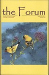 The Forum: Summer 2005 by Lauren Chilian, Tera Fong, Sarah Walker, Jeremy Bold, Erienne Graten, Derek Swenson, and Bernie Thomas