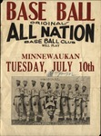 All Nations Baseball Club Poster