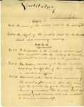Ad Altiora Literary Society Constitution